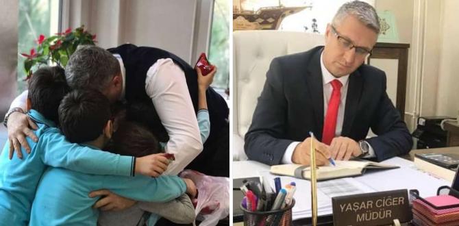 Ereğli'de sevilen öğretmen Ataması yapıldı